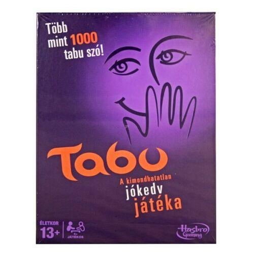 Hasbro Tabu - A kimondhatatlan szavak játéka - új kiadás HAS33529
